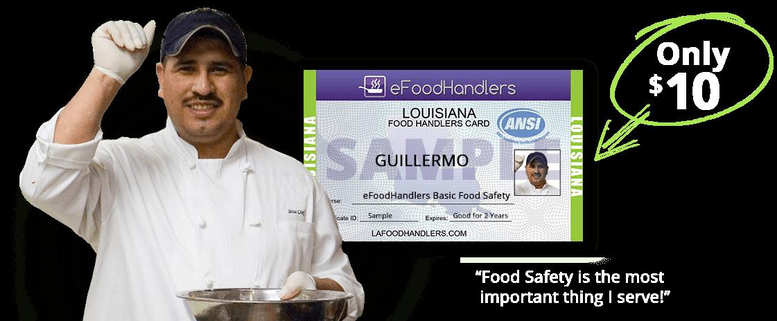 Louisiana Food Handlers Card Efoodhandlers 10